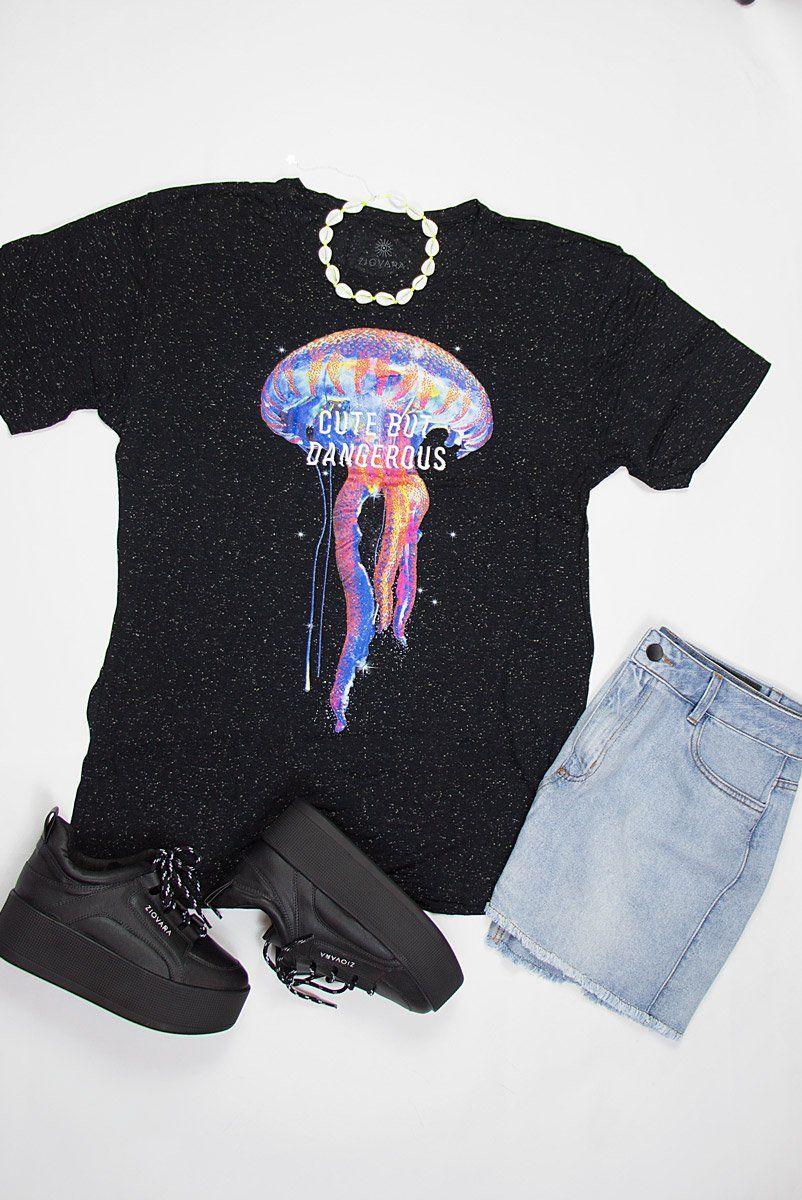 T-shirt PLUS Jelly, Cute But Dangerous