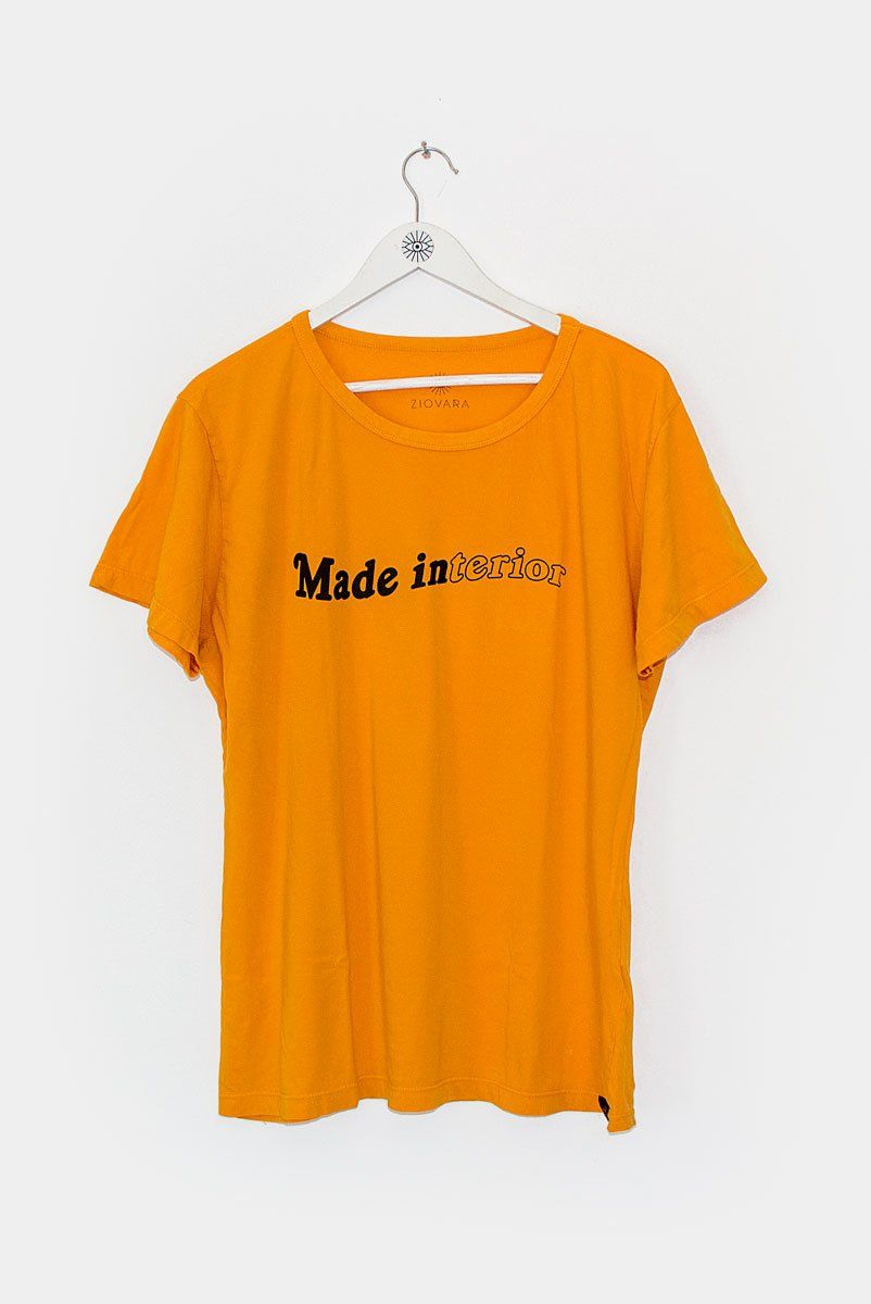 T-shirt PLUS Mostarda Made Interior