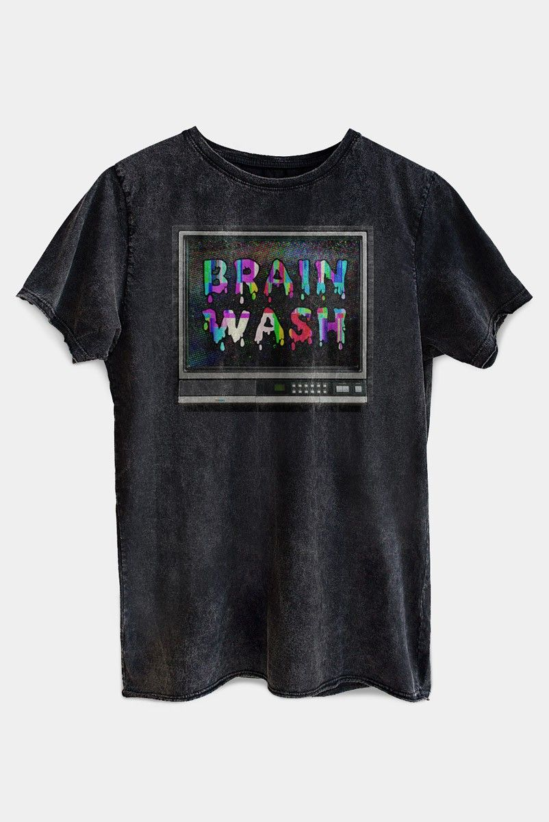 T-shirt PLUS TV Brain Wash