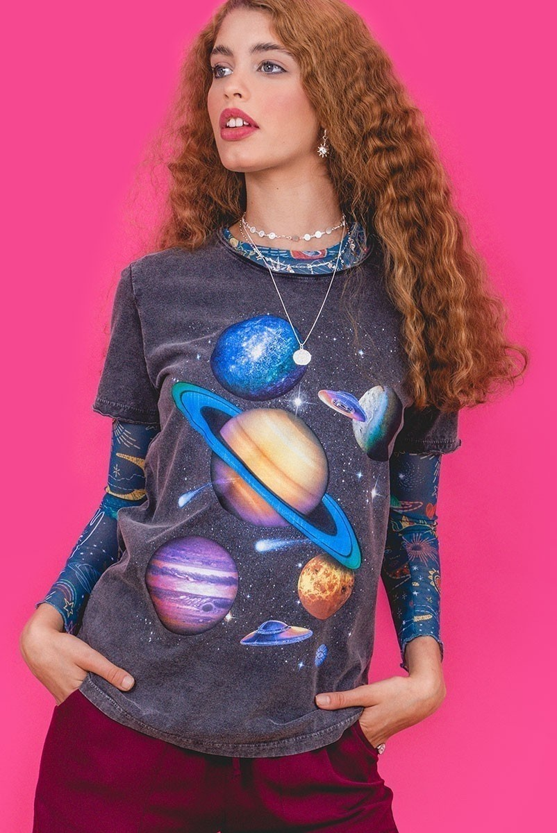 Camiseta T-shirt Space