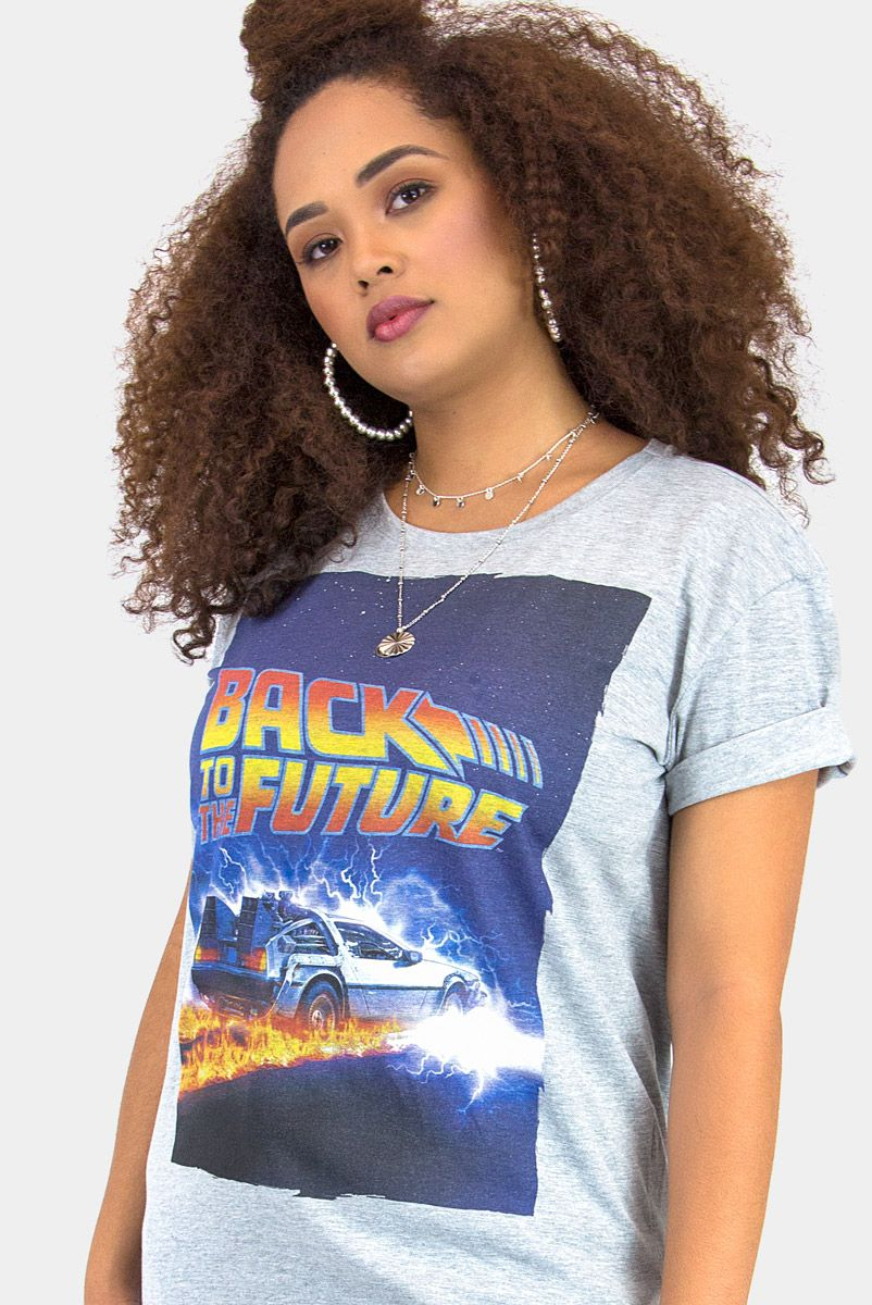 T-shirt Uni Back To The Future