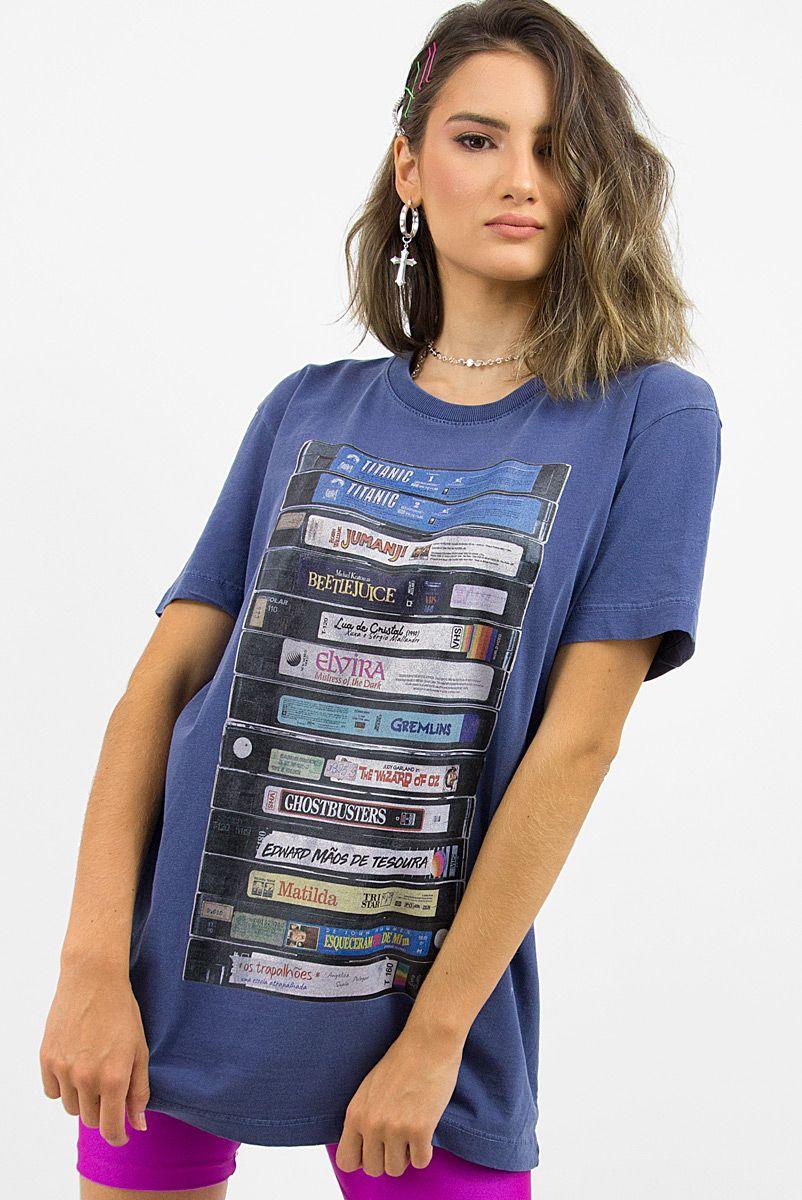 T-shirt VHS Sessão Da Tarde