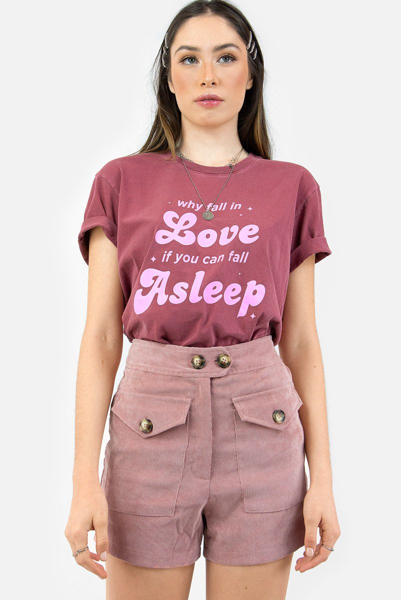 T-shirt Vinho