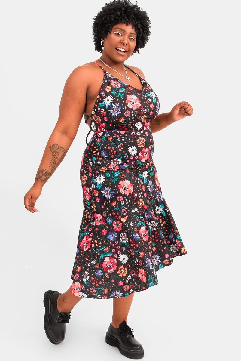 Vestido Midi Florescer