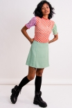 Blusa Baby Tule Checkerboard Mix