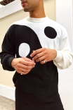 Blusão Tricot Yin Yang