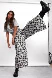 Calça Cropped Wide Margarida