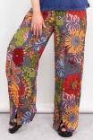 Calça Wide Leg Flower Power
