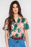 Camisa Tropical Tucano - Pessego