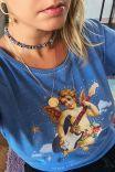 Camiseta Babylook Anjo Rocker