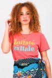 Camiseta Babylook Inhale Exhale