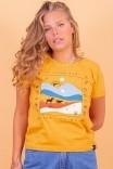 Camiseta Babylook Mostarda The Way