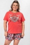 Camiseta Babylook PLUS Bússola Enjoy