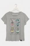 Camiseta Babylook PLUS Celestial
