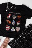 Camiseta Babylook PLUS Cogumelos