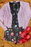 Camiseta Babylook PLUS Flores dos Signos