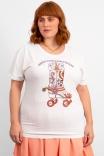Camiseta Babylook PLUS Lucky Stars