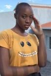 Camiseta Babylook Smile Fixo