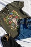 Camiseta Box PLUS Botânica Mão