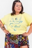 Camiseta PLUS T-shirt Be The Energy
