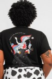 Camiseta PLUS T-shirt Pássaro Trust