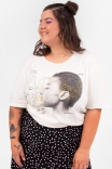 Camiseta T-shirt Anatomia Feminina