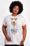 Camiseta T-shirt Asas Off-White
