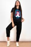 Camiseta T-shirt Bowie Preta