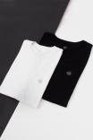 Camiseta T-shirt Box PLUS Logo Preta