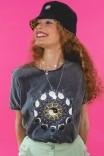 Camiseta T-shirt Eclipse dos Gatos