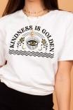 Camiseta T-shirt Kindness Is Golden