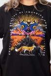 Camiseta T-shirt Landscape Fox