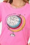 Camiseta T-shirt Neon Globo