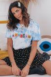 Camiseta T-shirt Nuvem Braless