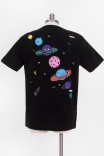 Camiseta T-shirt Planetas