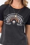 Camiseta T-shirt PLUS Arco Íris Children Of Earth