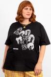 Camiseta T-shirt PLUS Femme Libre