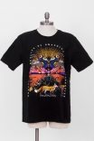 Camiseta T-shirt PLUS Landscape Fox