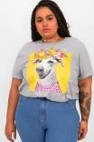 Camiseta T-shirt PLUS Mescla Vira Lata