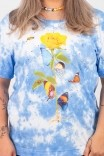 Camiseta T-shirt PLUS Nuvem Flor Dali