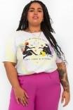 Camiseta T-shirt PLUS Tie Dye Radiate