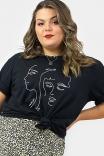Camiseta T-shirt Rosto Sometimes