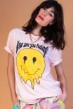Camiseta T-shirt Smile Rosa Feeling