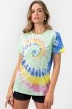 Camiseta T-shirt Tie Dye Palomita