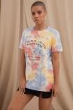 Camiseta T-shirt Tie Dye Tabuleiro Ouija