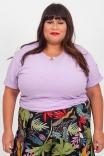 Camiseta T-shirt Unisex Basic Lavanda