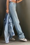 Jaqueta Bomber Jeans Azul