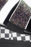 Papete Flatform Glitter Checkerboard