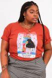 Camiseta T-shirt PLUS Janela