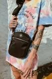 Shoulder Bag Multi Preto c/ Níquel